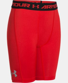 Boys' UA CoolSwitch Fitted Shorts  1 Color $22.99
