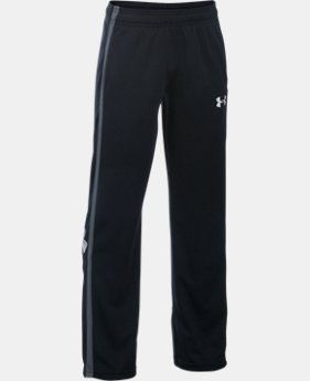 New Arrival  Boys' UA Champ Warm-Up Pants LIMITED TIME: FREE SHIPPING 1 Color $34.99