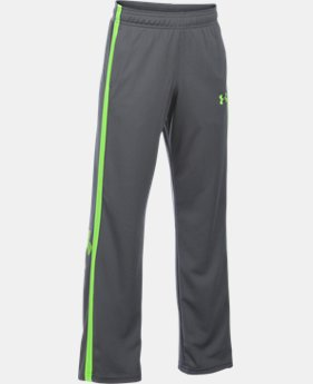 Boys' UA Champ Warm-Up Pants LIMITED TIME: FREE SHIPPING 2 Colors $34.99