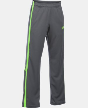 New Arrival  Boys' UA Champ Warm-Up Pants LIMITED TIME: FREE SHIPPING 2 Colors $34.99