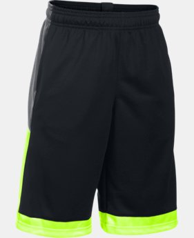 Boys' UA Baseline Basketball Shorts  1 Color $22.99