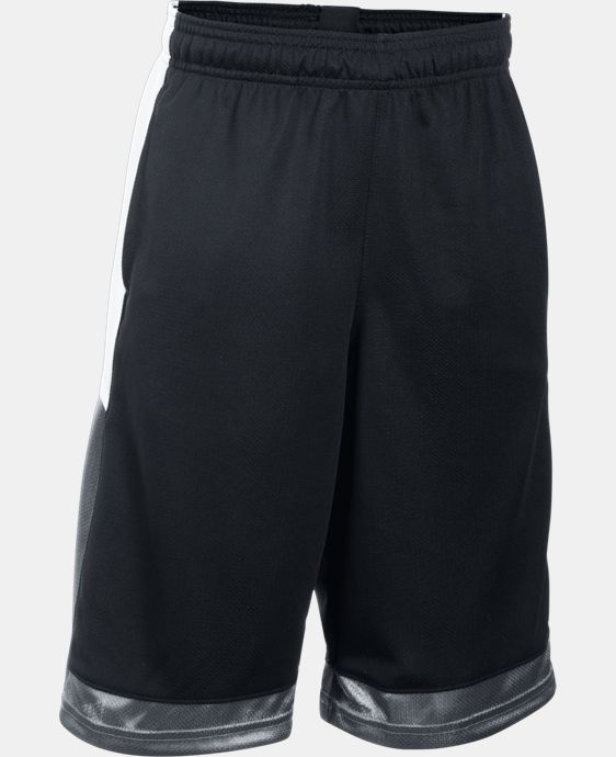 Boys' UA Baseline Basketball Shorts LIMITED TIME: FREE U.S. SHIPPING 2 Colors $14.24 to $18.99