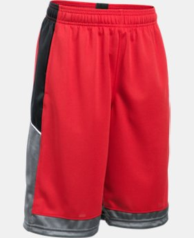 New Arrival Boys' UA Baseline Basketball Shorts  1 Color $24.99