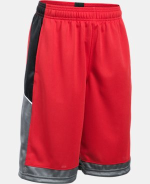 Boys' UA Baseline Basketball Shorts  1 Color $24.99