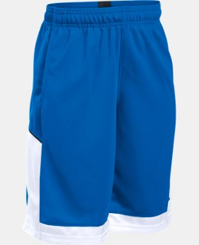 New Arrival Boys' UA Baseline Basketball Shorts   $24.99