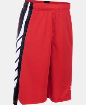 Boys' UA Select Basketball Shorts LIMITED TIME: FREE SHIPPING  $34.99