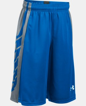 New Arrival  Boys' UA Select Basketball Shorts LIMITED TIME: FREE SHIPPING 1 Color $26.99 to $34.99