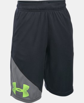 Boys' UA Tech™ Shorts LIMITED TIME: FREE SHIPPING  $22.99