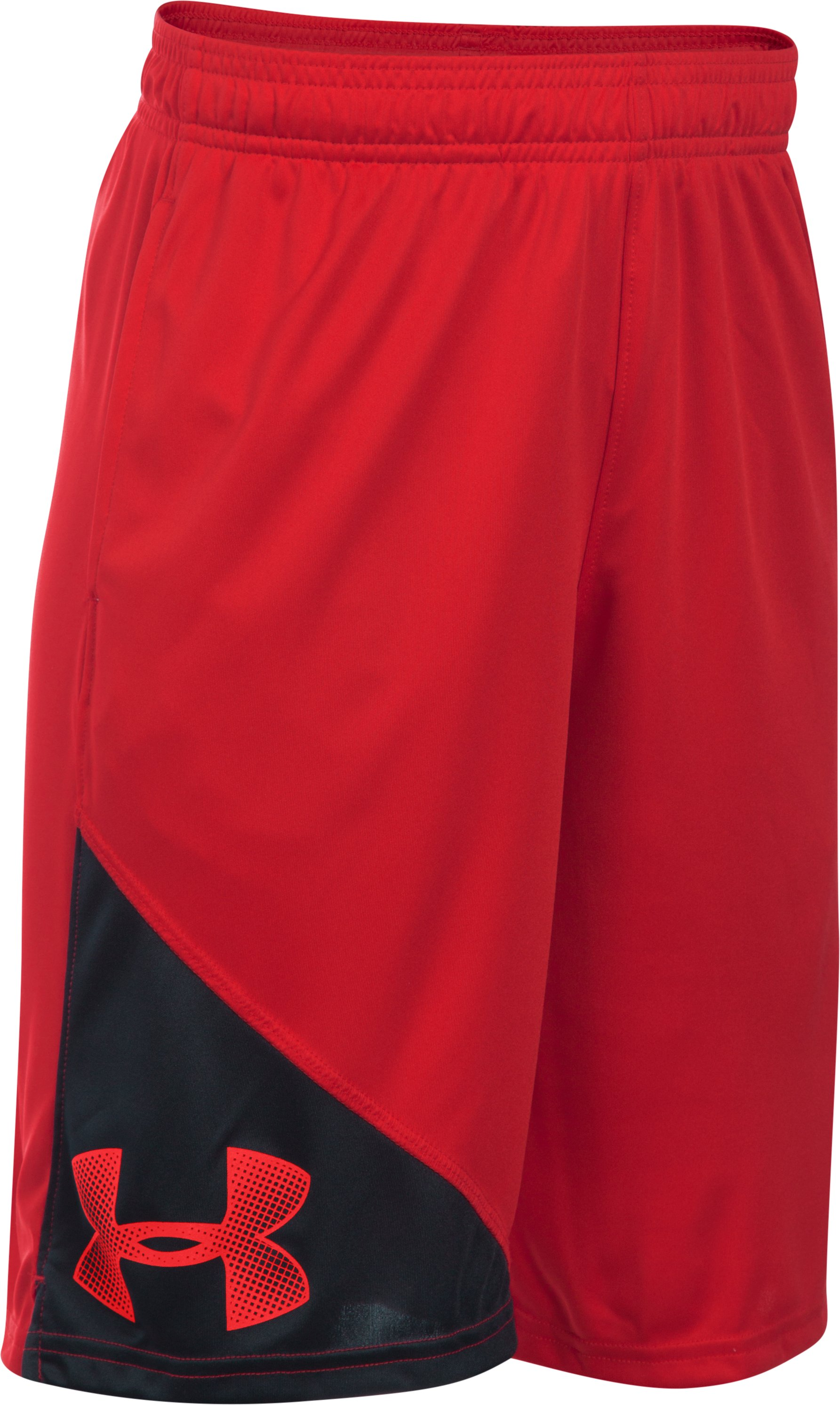 Boys' UA Tech™ Prototype Shorts, Red, undefined