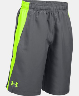 New to Outlet Boys' UA Skill Woven Shorts  1 Color $17.24 to $22.99