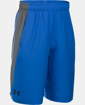 New Arrival  Boys' UA Skill Woven Shorts LIMITED TIME: FREE SHIPPING 1 Color $26.99