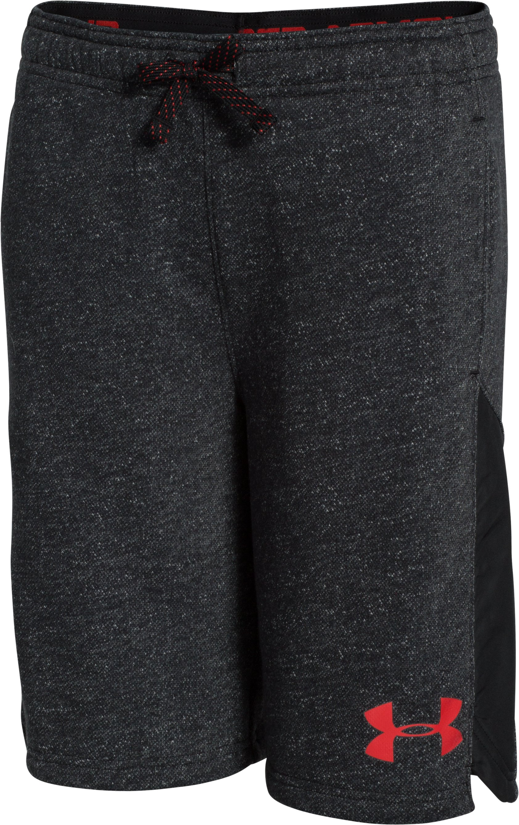 Boys' UA Link Shorts, Black
