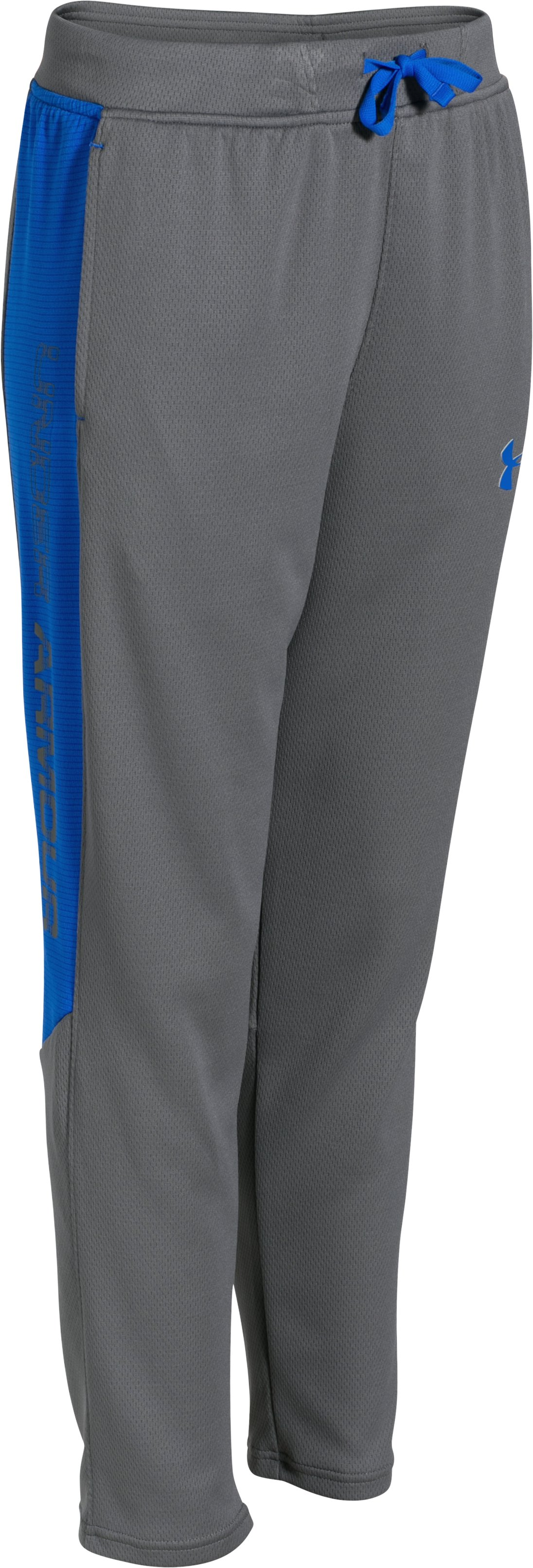 Boys' UA Select Warm-Up Pants, Graphite, zoomed image