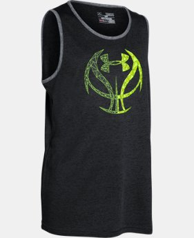 Boys' UA Run 'N Gun Tank LIMITED TIME: FREE U.S. SHIPPING  $14.24