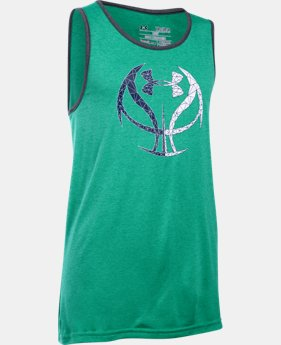 Boys' UA Run 'N Gun Tank  1 Color $18.99