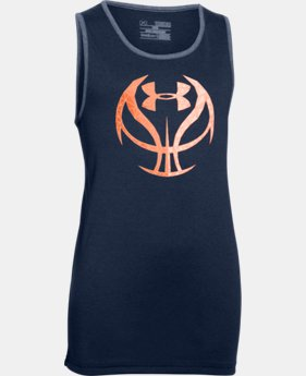 Boys' UA Run 'N Gun Tank  1 Color $14.24 to $18.99