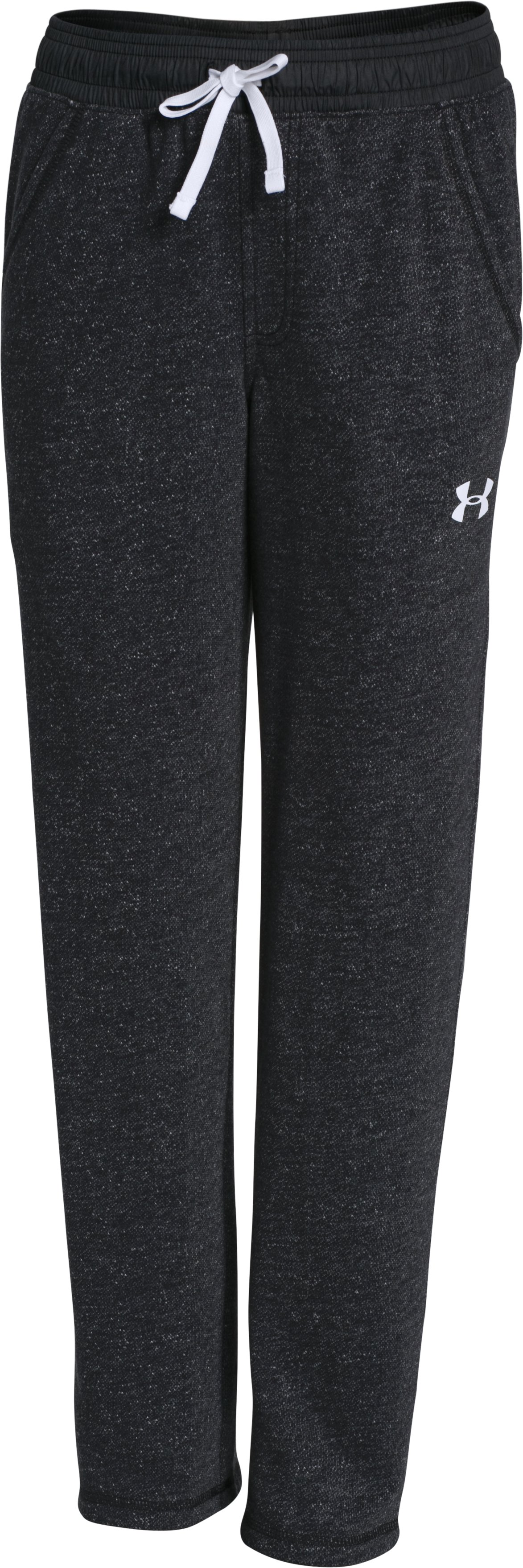 Boys' UA Link Pants, Black , undefined