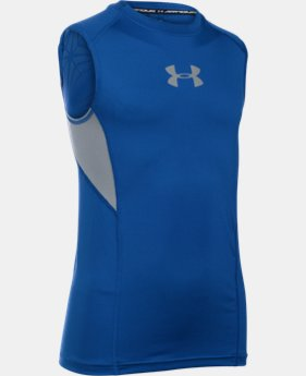 Boys' UA CoolSwitch Fitted Tank LIMITED TIME: FREE SHIPPING  $29.99