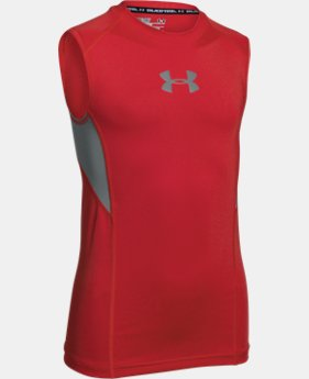 Boys' UA CoolSwitch Fitted Tank