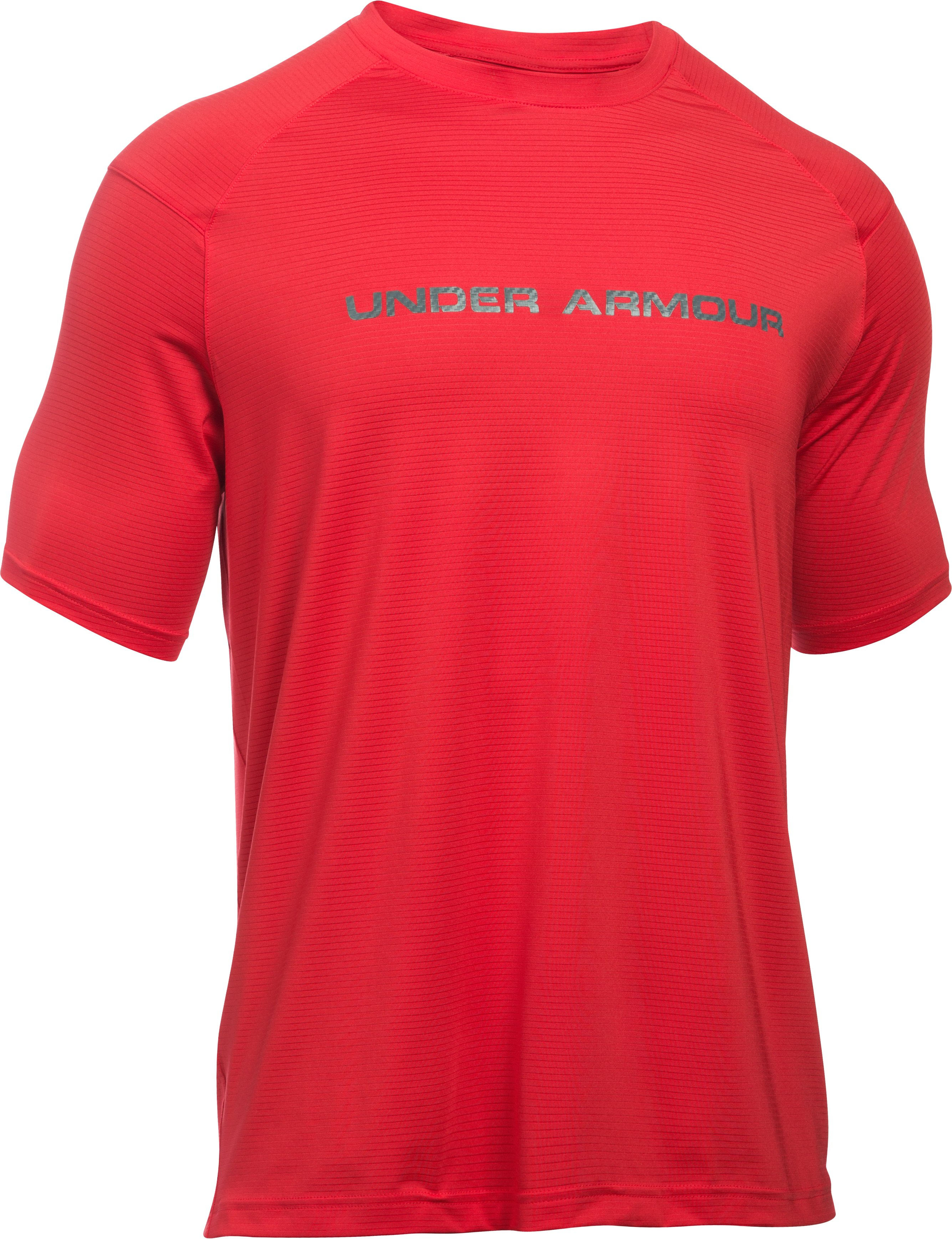 Men's UA Scope T-Shirt, Red, undefined
