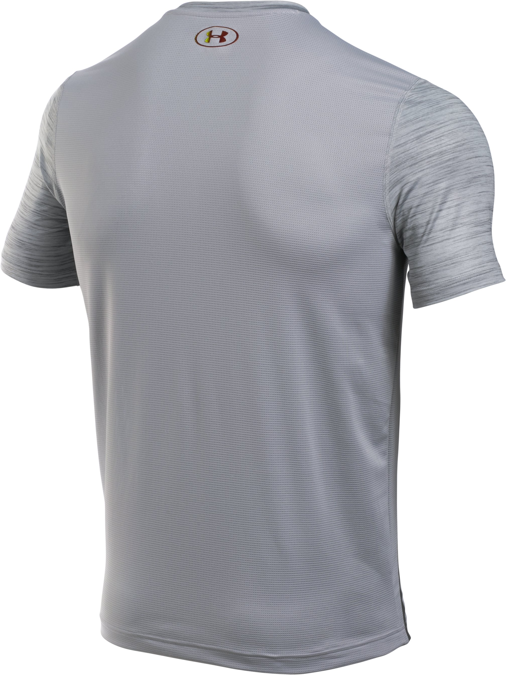 Men's UA CoolSwitch T-Shirt, OVERCAST GRAY