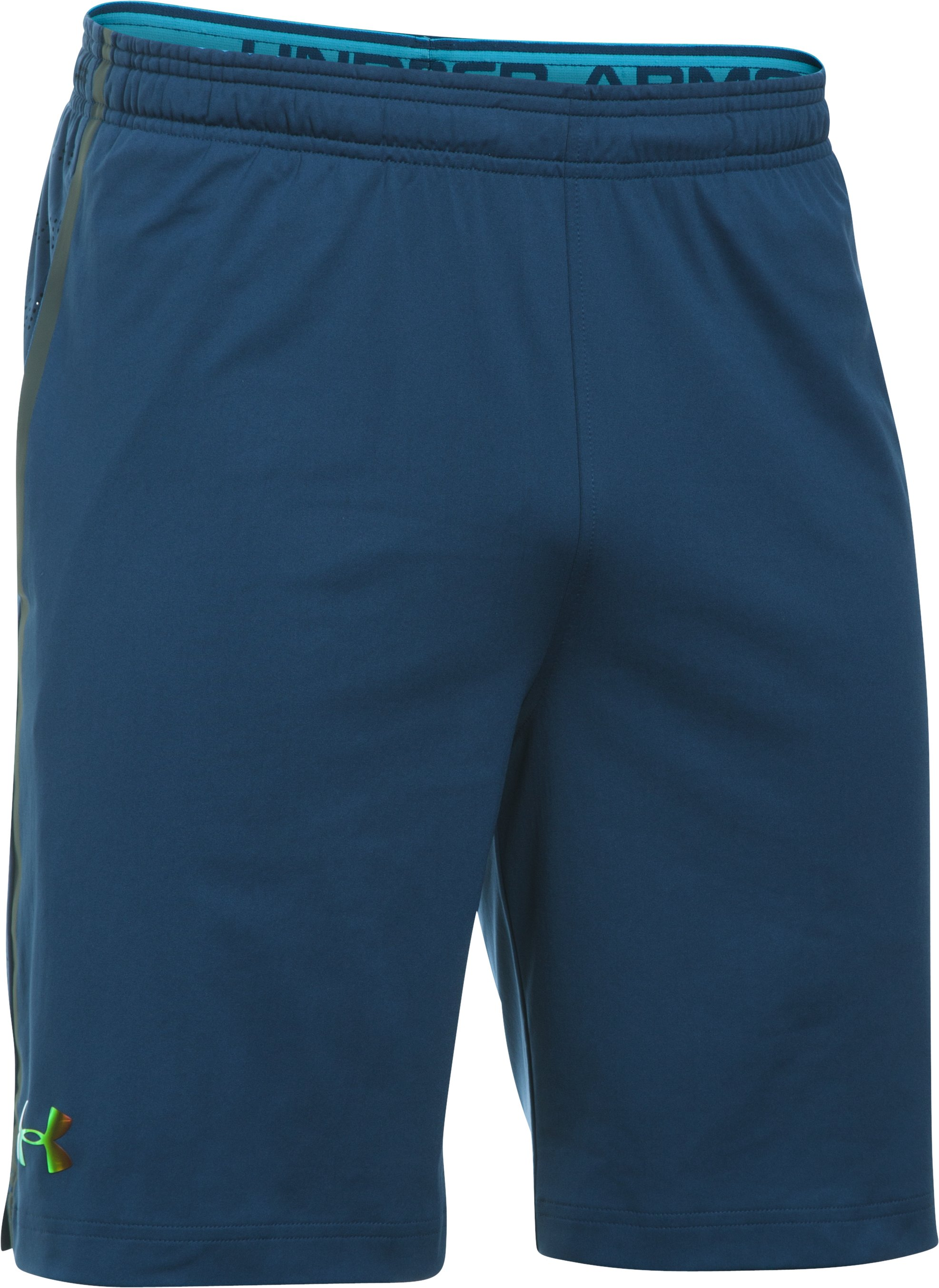 Men's UA Road To Rio Kit Shorts, BLACKOUT NAVY, undefined