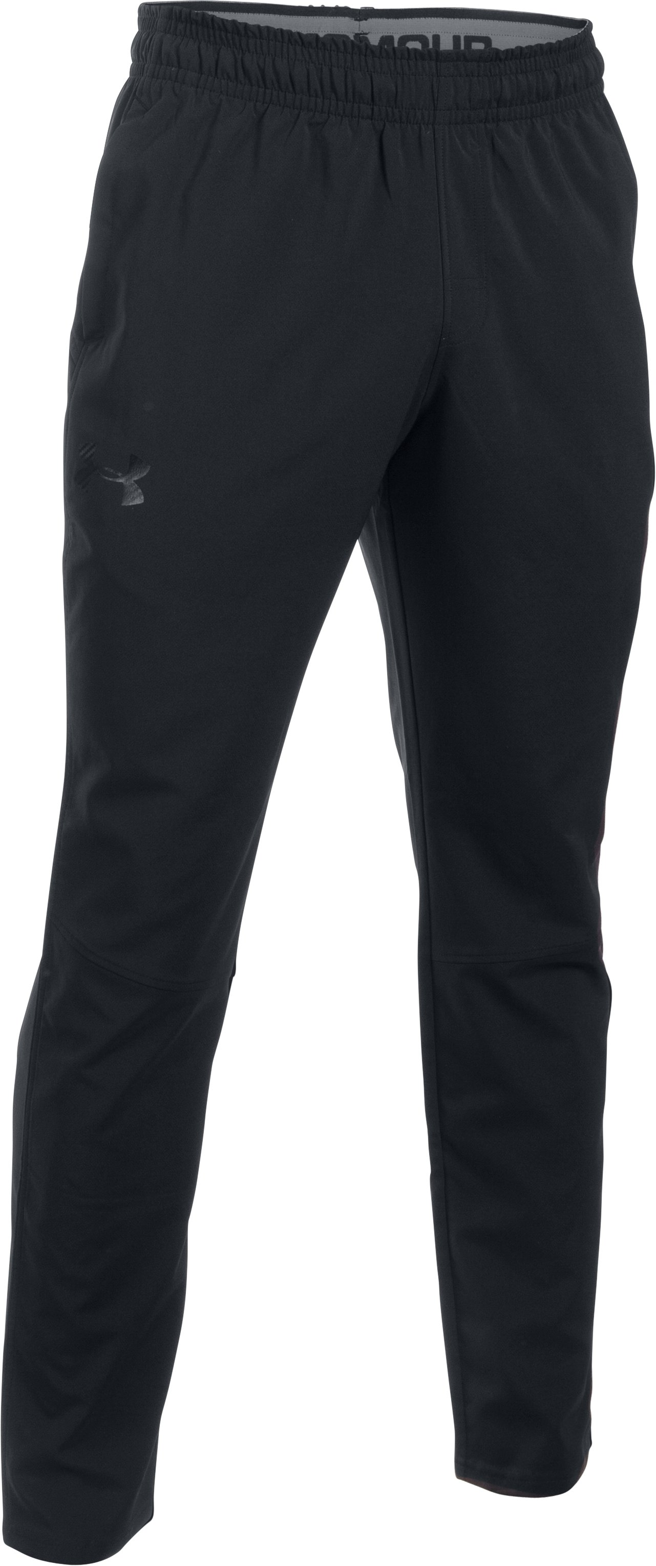 Men's UA HIIT Woven Pants, Black ,