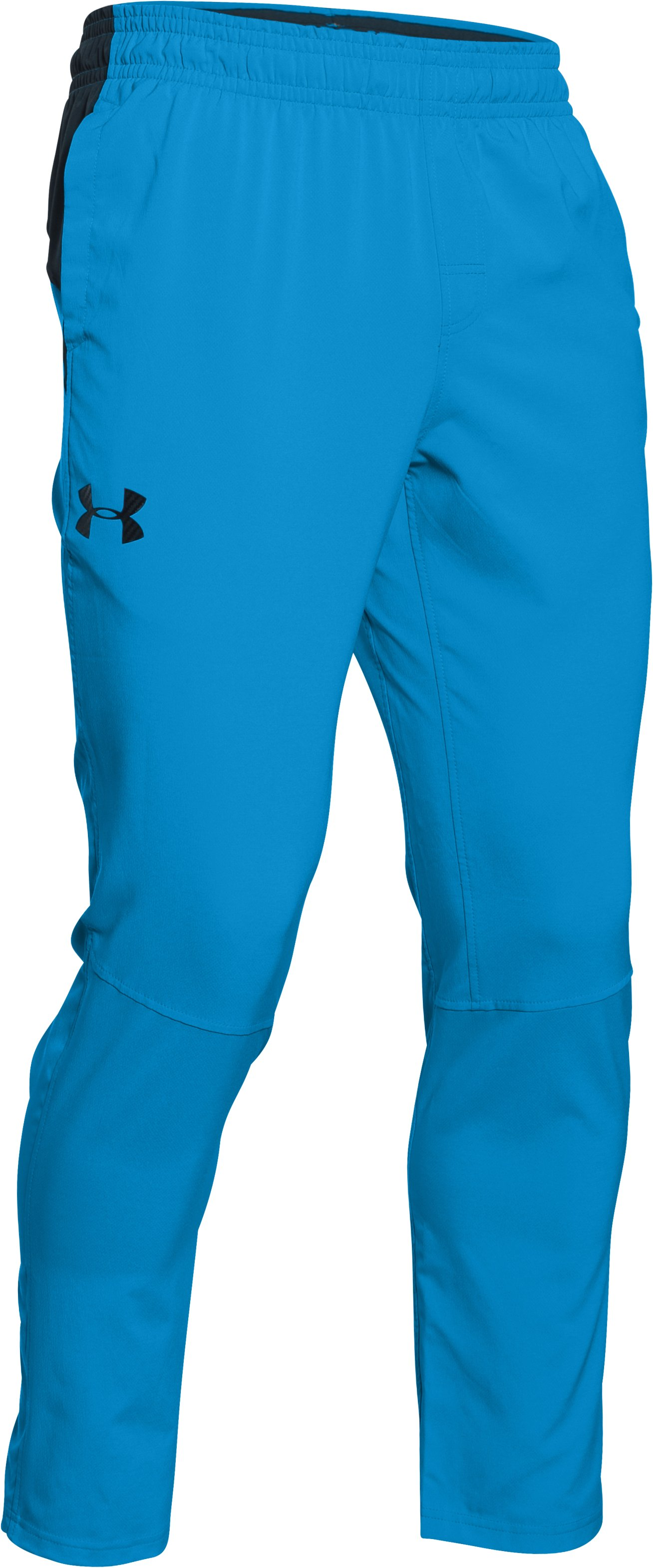 Men's UA HIIT Woven Pants, ELECTRIC BLUE
