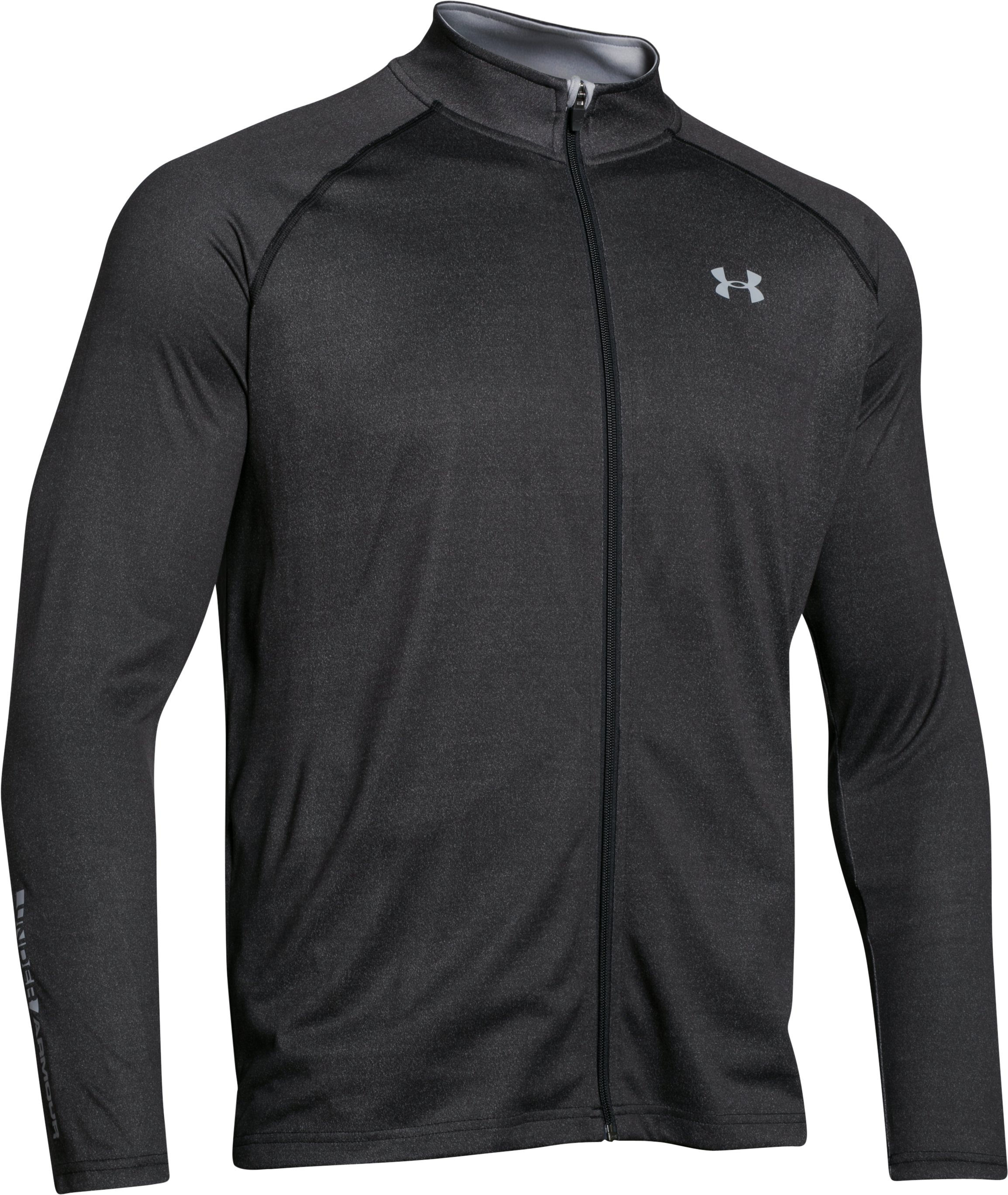 Men's UA Tech™ Track Jacket, Black , undefined