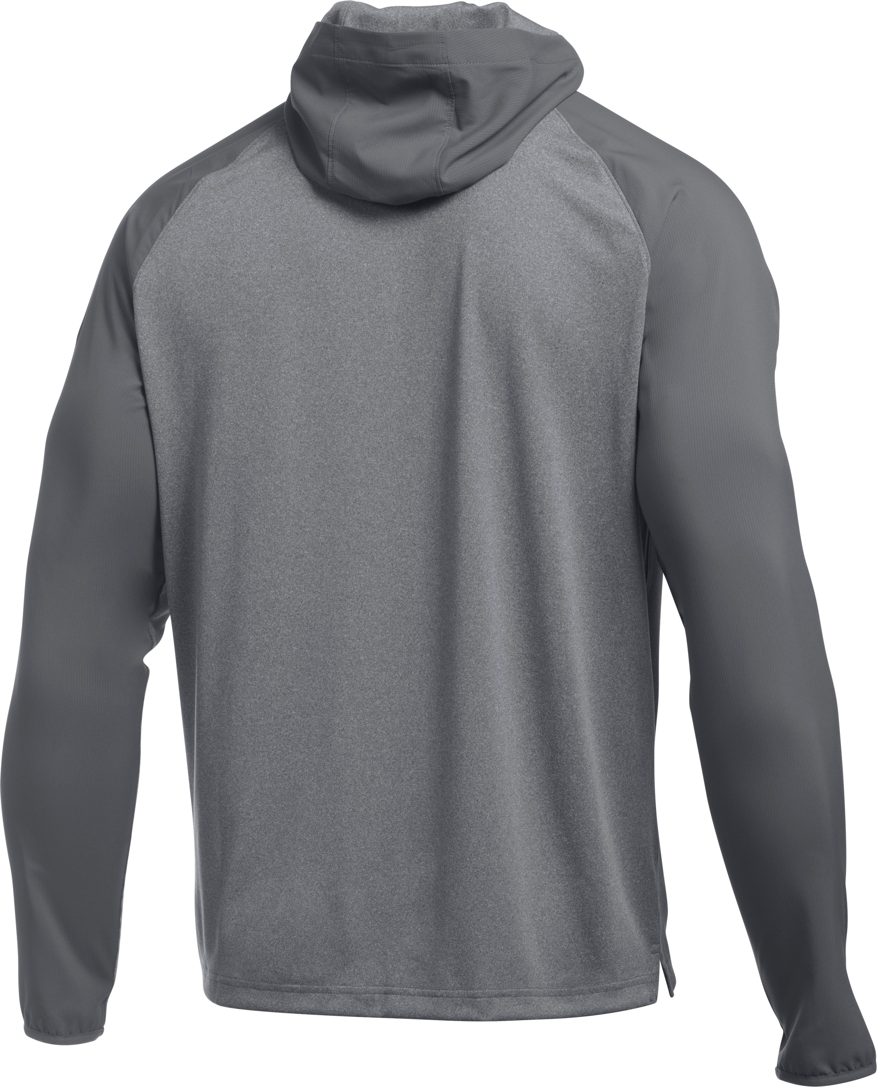 Men's UA Scope LW ¼ Zip Hoodie, Graphite