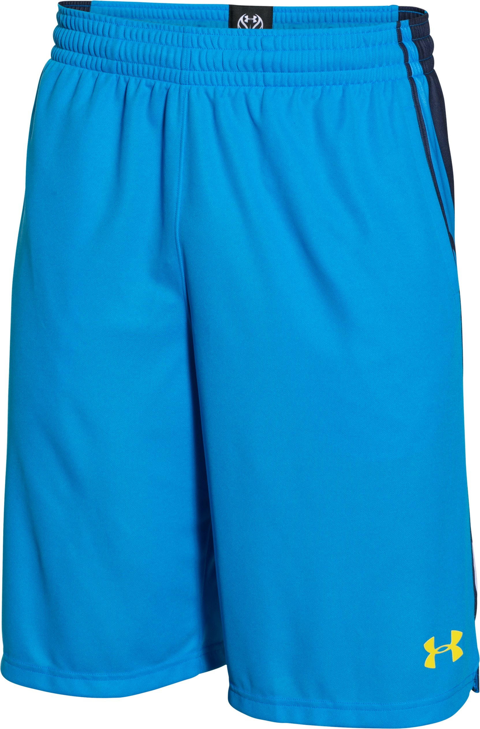 Men's UA Select Basketball Shorts, ELECTRIC BLUE,