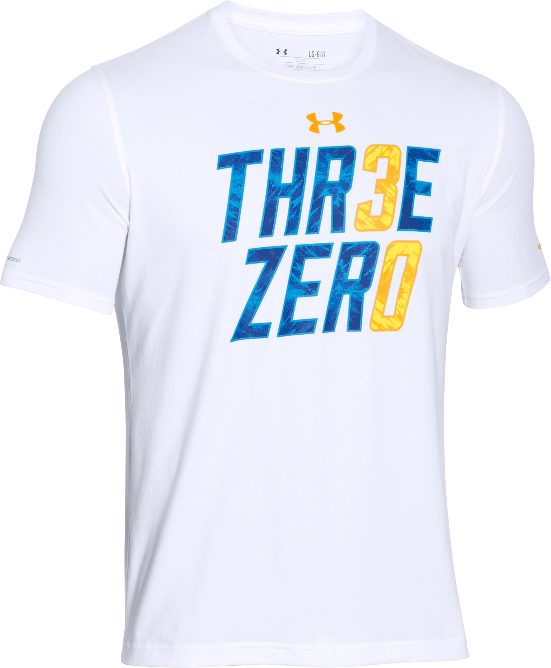 Men's SC30 Three Zero T-Shirt, White, undefined
