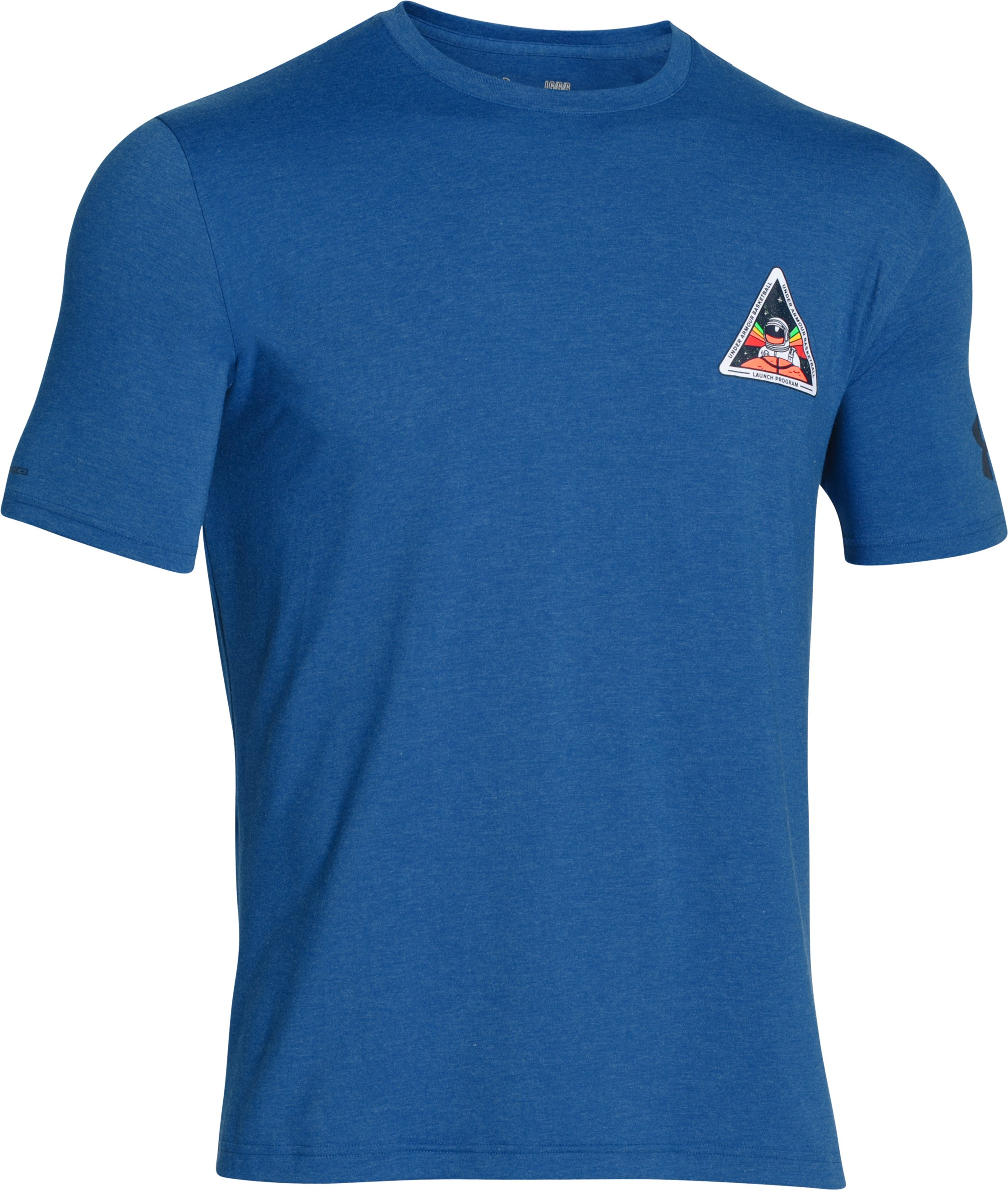 Men's UA Launch Program T-Shirt, Royal,