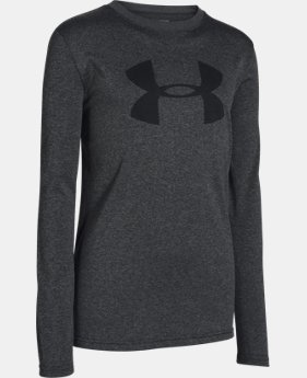 Boys' UA Big Logo Long Sleeve T-Shirt  1 Color $18.99