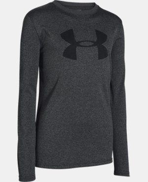 Boys' UA Big Logo Long Sleeve T-Shirt LIMITED TIME: FREE U.S. SHIPPING  $18.99