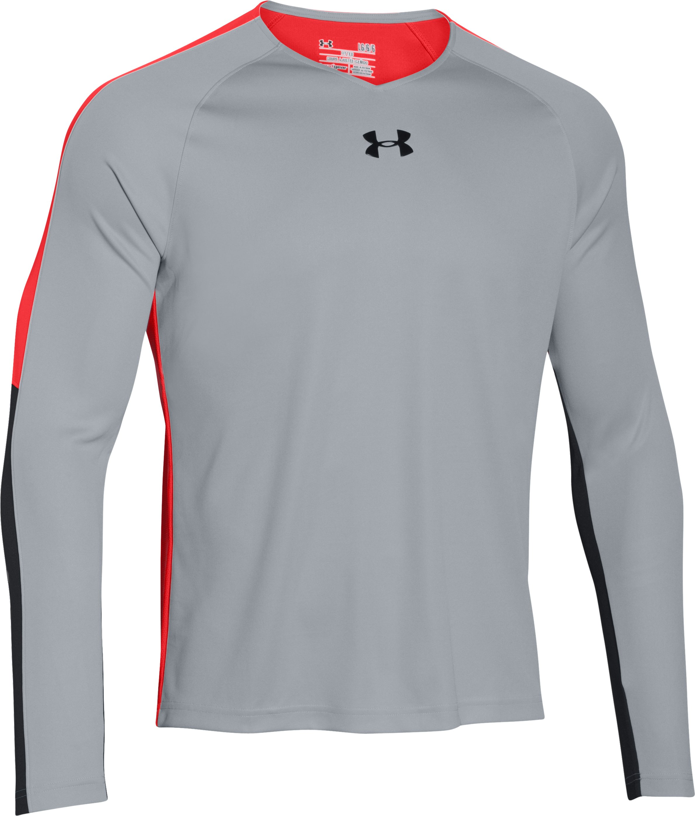 Men's UA Select Shooting Shirt, AMALGAM GRAY, undefined
