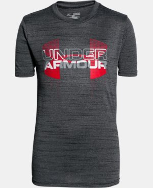 Boys' UA Tech™ Big Logo Hybrid T-Shirt  4 Colors $24.99
