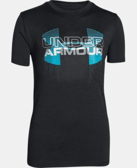 Boys' UA Tech™ Big Logo Hybrid T-Shirt LIMITED TIME: FREE U.S. SHIPPING 1 Color $14.24 to $18.99
