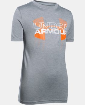 Best Seller Boys' UA Tech™ Big Logo Hybrid T-Shirt  5 Colors $24.99