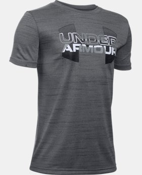 Best Seller Boys' UA Tech™ Big Logo Hybrid T-Shirt  6 Colors $18.99 to $19.99