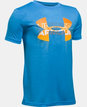 Best Seller Boys' UA Tech™ Big Logo Hybrid T-Shirt  10 Colors $18.99 to $24.99