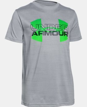 Boys' UA Tech™ Big Logo Hybrid T-Shirt  2 Colors $17.24 to $22.99