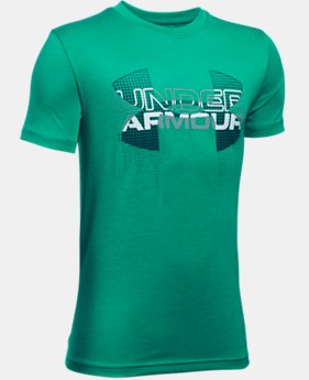 Best Seller  Boys' UA Tech™ Big Logo Hybrid T-Shirt  1 Color $17.99