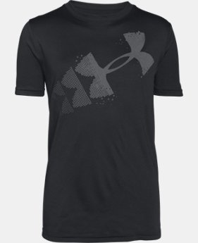 Boys' UA Rising Pixelated Logo T-Shirt  1 Color $22.99