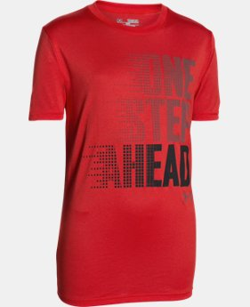 Boys' UA One Step Ahead T-Shirt   $25.99