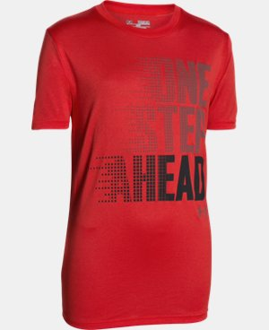 New Arrival  Boys' UA One Step Ahead T-Shirt LIMITED TIME: FREE SHIPPING 1 Color $25.99