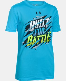 Boys' UA Built For Battle T-Shirt  1 Color $11.24