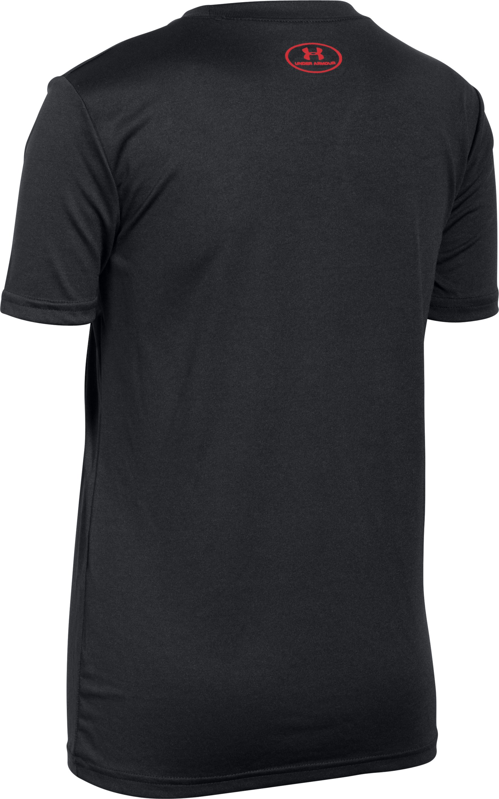 Boys' UA Refuse Defeat T-Shirt, Black , undefined