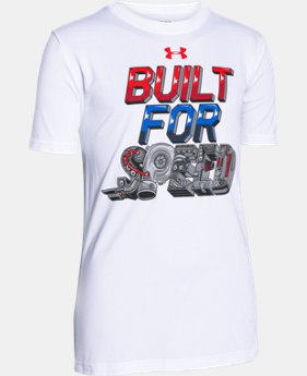 Boys' UA Built For Speed T-Shirt  1 Color $11.99