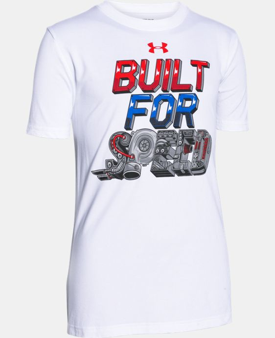 New to Outlet Boys' UA Built For Speed T-Shirt LIMITED TIME: FREE U.S. SHIPPING  $11.24